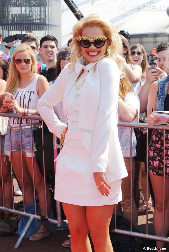 Rita Ora rejoint le jury du X Factor anglais en tant que guest.