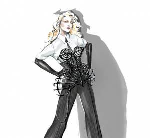 Madonna : Jean Paul Gaultier lui taille un costard pour MDNA Tour