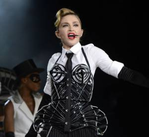 Madonna : les photos des 3 tenues de son concert a Tel-Aviv