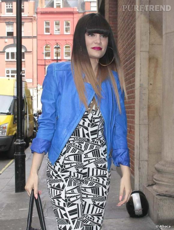 Jessie J à Londres près des studios de la BBC Radio 1.