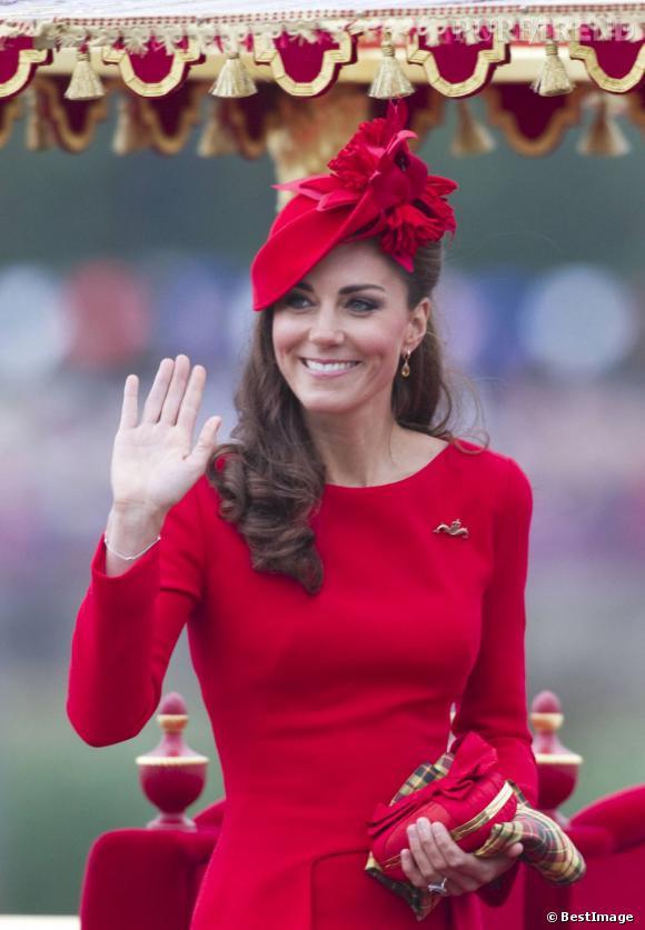 Kate Middleton à la cérémonie de Jubilé de Diamant de la Reine Elizabeth II.