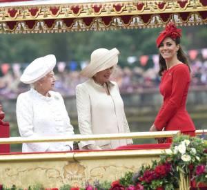 Kate Middleton fait de l'ombre à la Reine.