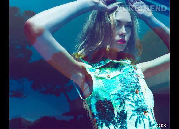 Tendance imprimé tropical de l'été 2012 : les palmiers, le bon shopping  Collection Stradivarius