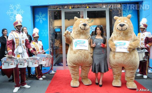 """Le flop """"animaux"""" :  on se demande parfois jusqu'où ira Kim Kardashian pour un peu de pub."""