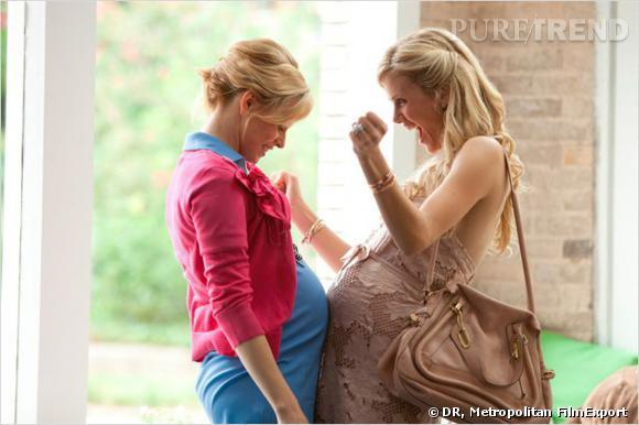 Le choc des grossesses entre Elizabeth Banks et Brooklyn Decker.