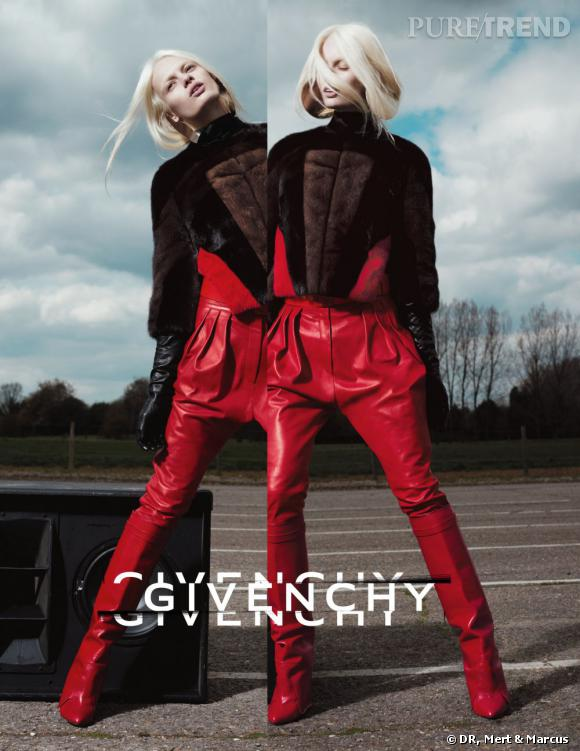 Campagne Givenchy, Automne-Hiver 2012/2013.