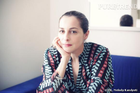 Amira Casar chez Claus, Paris.