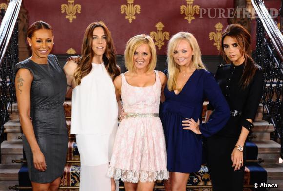 """Les Spice Girls réunies pour promouvoir la future comédie musicale """"Viva Forever"""". Dès décembre à Londres."""