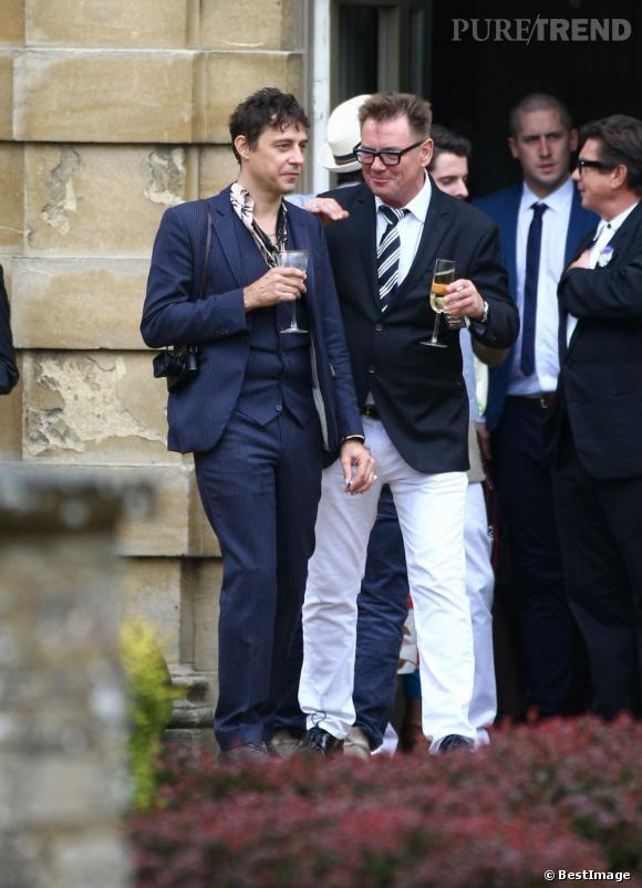 Jamie Hince, venu avec Kate Moss au mariage de Jade Jagger