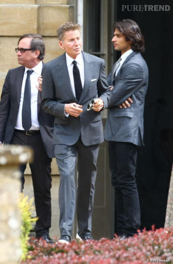 Calvin Klein est aussi présent pour le mariage de Jade Jagger et Adrian Fillary