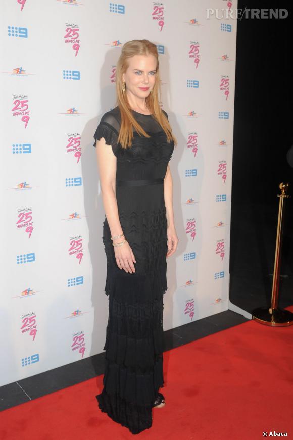 Le look red carpet  : sur tapis rouge Nicole Kidman est capable du pire comme du meilleur. Mais elle conserve toujours ce petit côté reine des glaces.