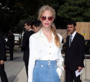 Poppy Delevingne vs Kirsten Dunst  : la jupe en jean