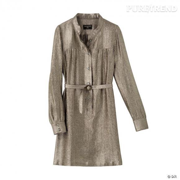 Must Have : Vanessa Seward pour A.P.C. La robe djellaba lamée