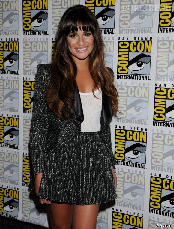 Lea Michele fait des ravages au Comic Con 2012 de San Diego.