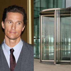 Matthew McConaughey a peur des portes tournantes