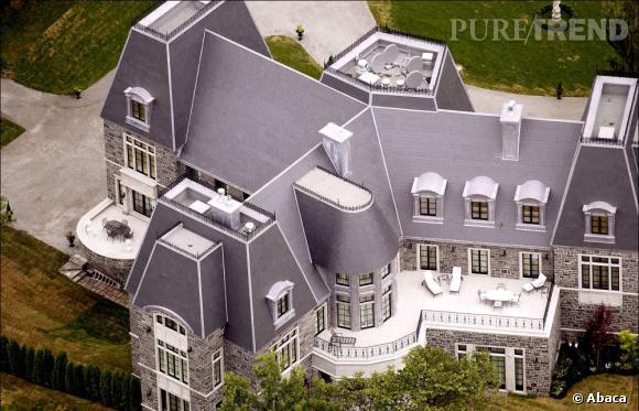 La maison de Celine Dion et René à Montréal