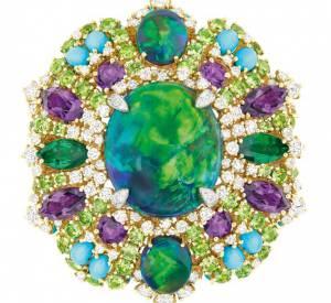 Bague Résille Bouquet d'Opales