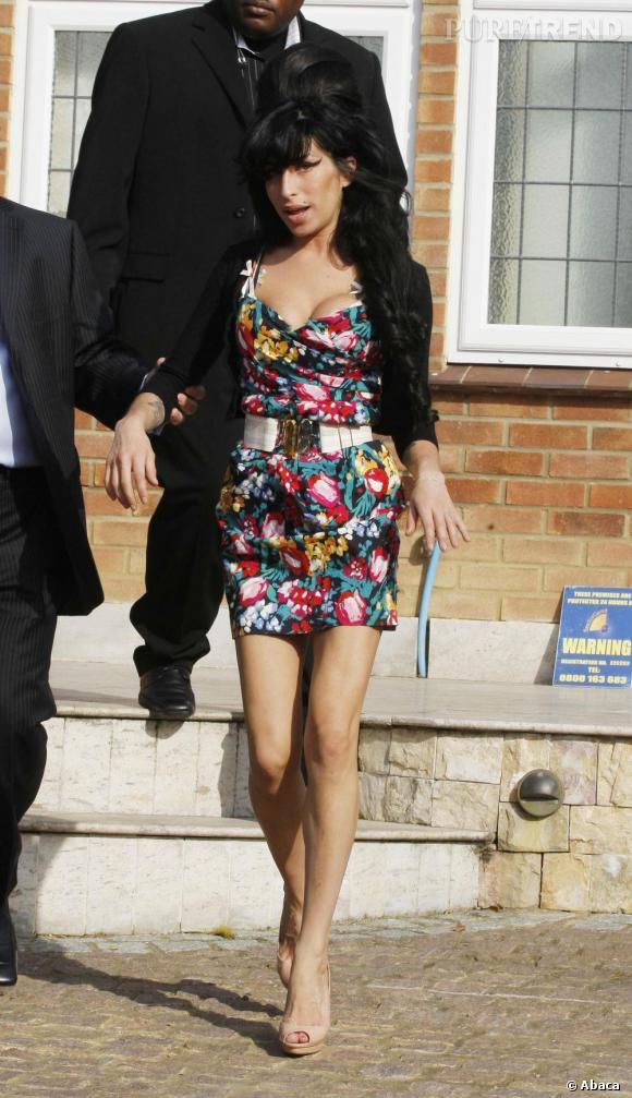 Amy Winehouse version liberty coloré en 2009.