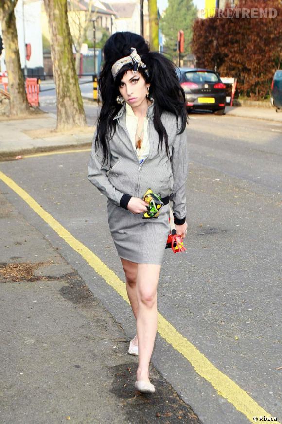 Amy Winehouse version fleur du ghetto en 2008.