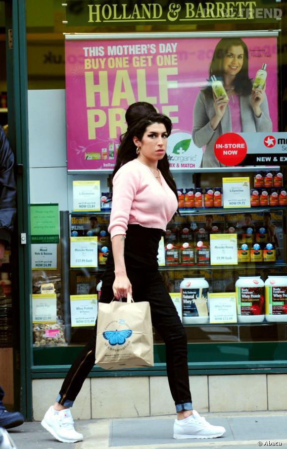 Amy Winehouse version Pink Ladies en 2010.