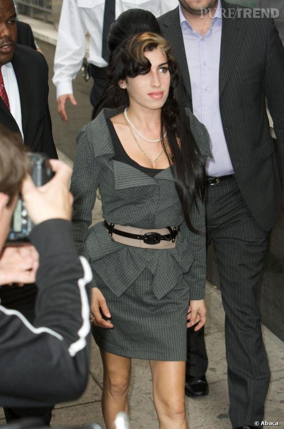 Amy Winehouse version Madame en 2009.