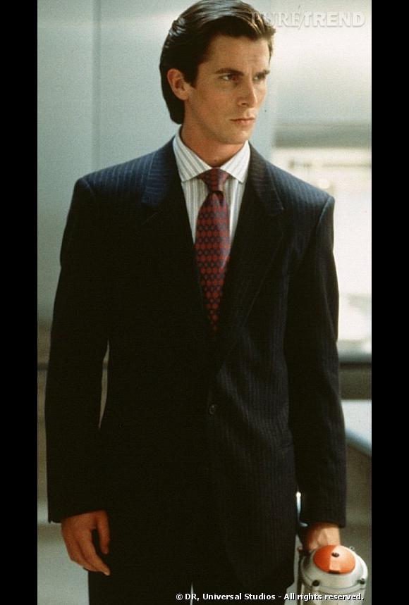 "En 2000, Christian Bale traumatise les foules dans l'adaptation du roman de Bret Easton Ellis ""American Psycho""."