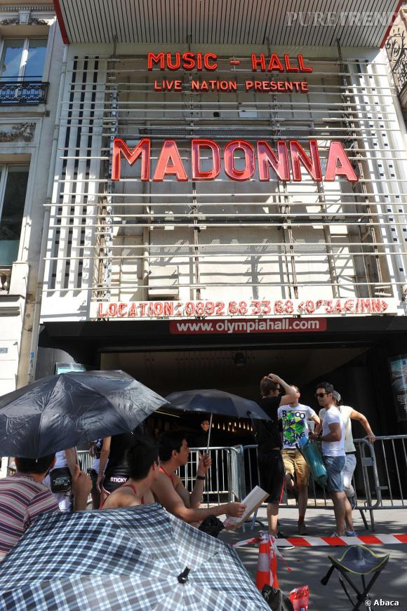 Madonna sera en concert à l'Olympia jeudi dans le cadre de son MDNA Tour