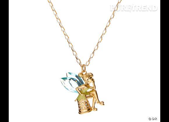 Le must have de Catherine :     Collier Fée Clochette Disney Couture, 103,69 € sur  www.asos.fr