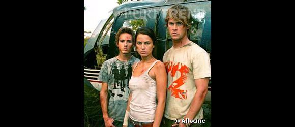 Chris Hemsworth (à droite) dans Summer Bay.