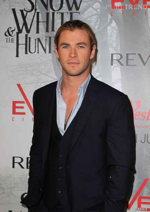 Chris Hemsworth en 2012.