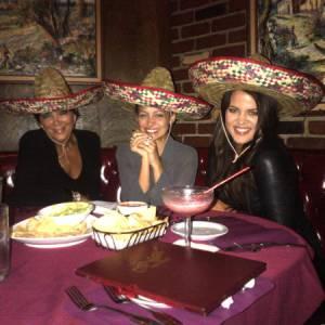 Chez les Kardashian on fait des soirées filles à la mexicaine avec Nicole Richie.