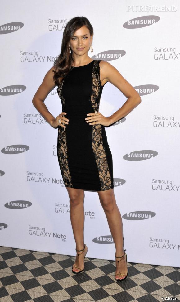 Irina Shayk à Londres le 15 août dernier.