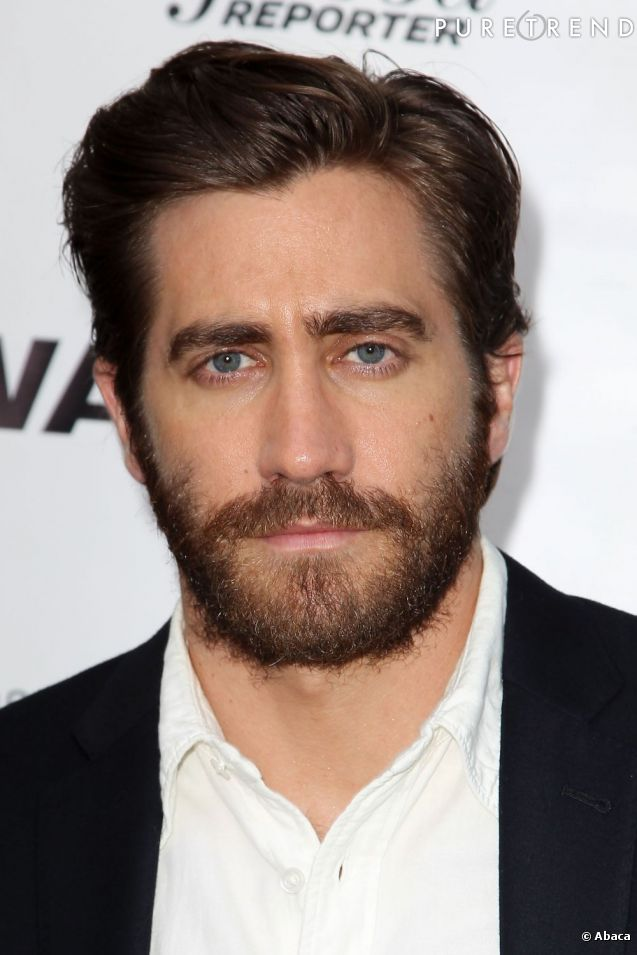 jake gyllenhaal nous montre son c t masculin avec sa. Black Bedroom Furniture Sets. Home Design Ideas