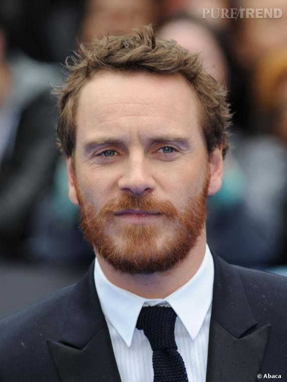 Michael Fassenberg nous révèle sa vraie nature avec sa barbe rousse.