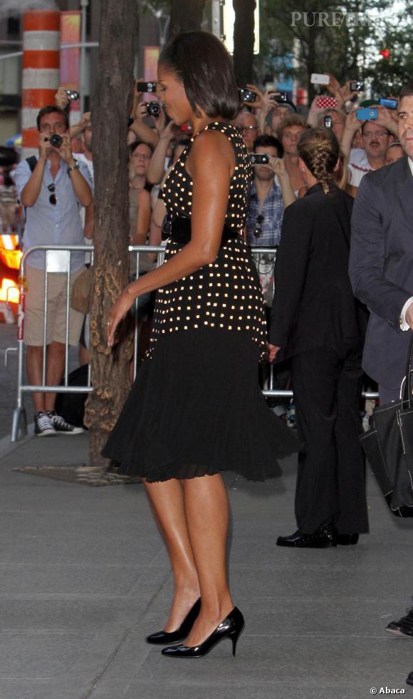 Michelle Obama cultive un style rétro 60's qui n'est pas sans rappeler une ancienne first lady : Jackie Kennedy.