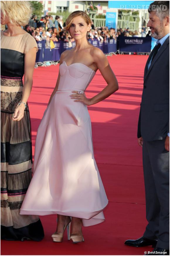 Clotilde Courau, membre royal du jury du festival.