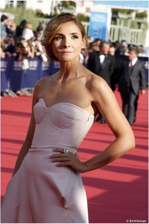 Clotilde Courau lors de la cérémonie d'ouverture du 38ème Festival du film américain de Deauville.