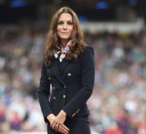 Kate Middleton : allure chic pour remettre une medaille d'or