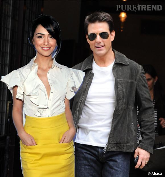 Alors que Tom Cruise nie le rôle de la Scientologie dans le choix de sa femme, un ancien Scientologue, Paul Haggis, a bien confirmé l'affaire, en parlant notamment de Nazanin Boniadi