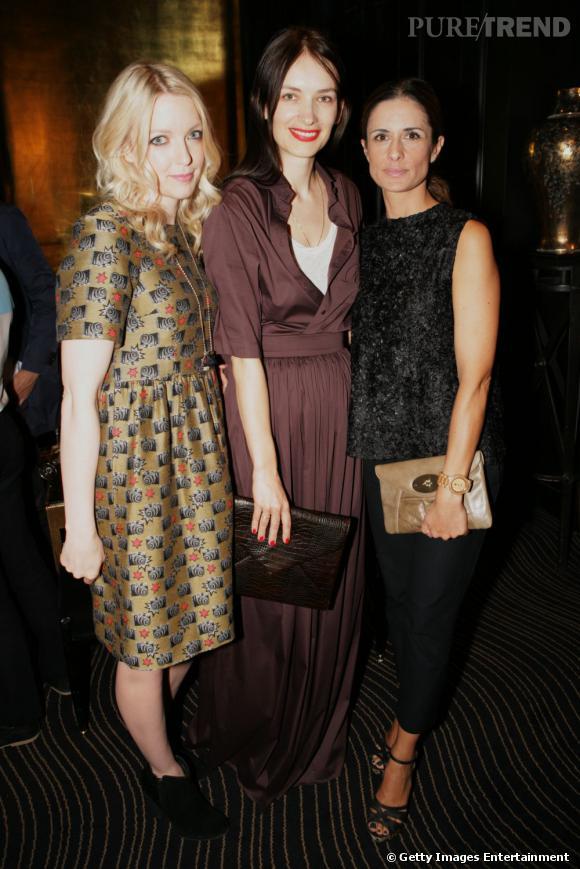 Laura Laverne, Roksanda Ilincic et Livia Firthlors de la soirée d'annonce des nomminés.