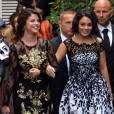 Selena Gomez brille en Dolce & Gabbana et éclipse Vanessa Hudgens en Blumarine.
