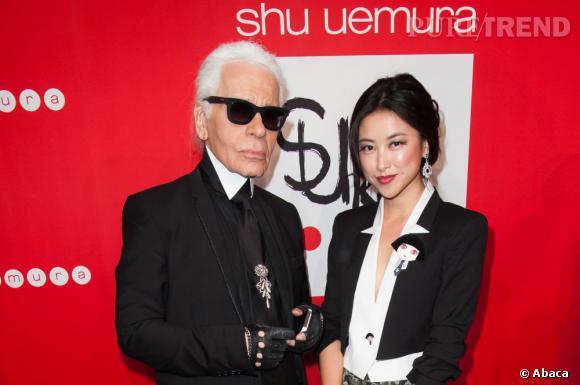 Karl Lagerfeld et la beauté asiatique, Zhu Zhu.