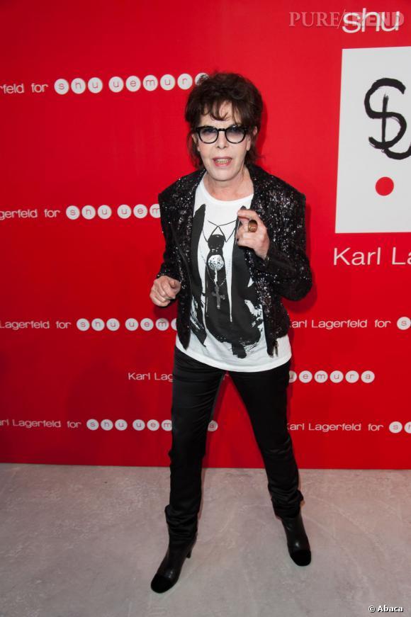 La chanteuse et actrice Dani avait également fait le déplacement, et arborait un t-shirt KARL très chic.