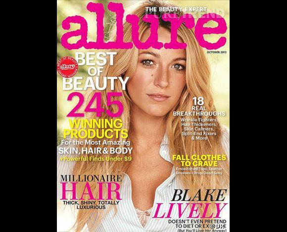 Dans son interview, réalisée un mois et demi avant son mariage, Blake Lively parle d'avoir une grande famille !