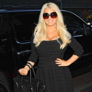 Jessica Simpson en plein régime Weight Watchers.
