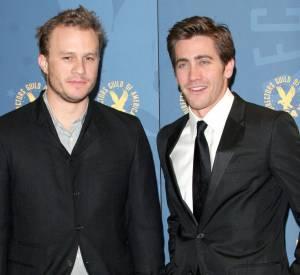"""Jake Gyllenhaal et Heath Ledger, couple plus vrai que nature dans """"Brokeback Mountain""""."""