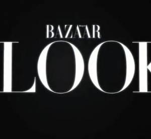 Nicole dans l'émission The Look du Harper's Bazaar avec Laura Brown.