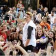 Justin commence mal sa tournée.