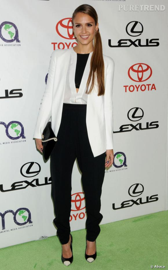 Jessica Alba aux Environmental Media Awards.