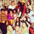 Solange Knowles et ses amis chéris.